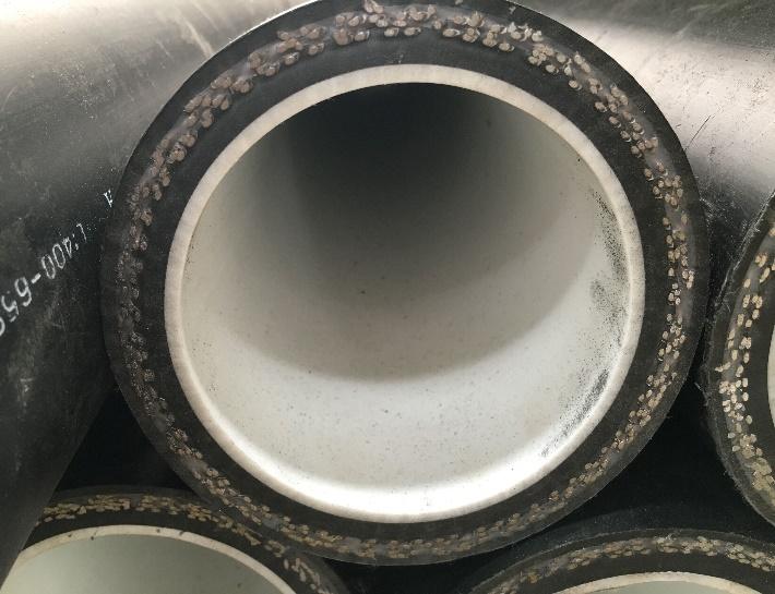 Полимерно-армированные трубы с износостойким слоем